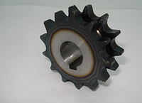 Звезда двухрядная d-18mm Z-13 (12 колесо)