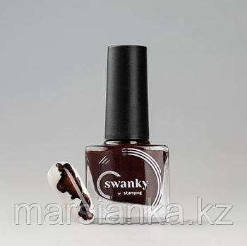 Акварельные краски Swanky Stamping, PM 02, коричневый, 5мл