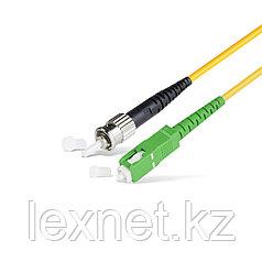 Патч Корд Оптоволоконный SC/APC-ST/UPC SM 9/125 Simplex 2.0мм 1 м