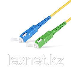 Патч Корд Оптоволоконный SC/UPC-SC/APC SM 9/125 Simplex 2.0мм 1 м