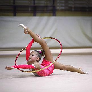 Обручи гимнастические
