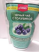 Листовой черный чай с голубикой, 100 гр, Neha