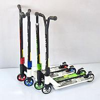 Трюковый самокат скутер 100мм колеса Детский
