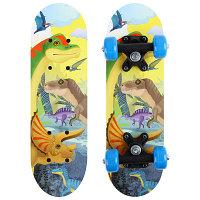 Скейтборд ONLITOP «Динозавры» детский 44х14 см, колёса PVC d=50 мм