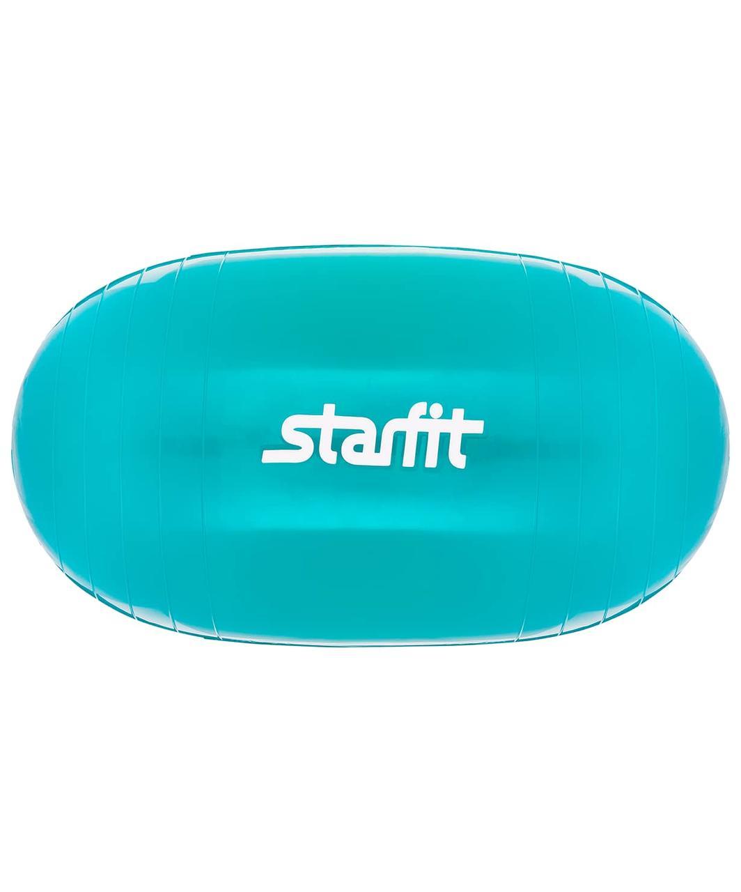 Мяч гимнастический GB-801, овальный, бирюзовый Starfit