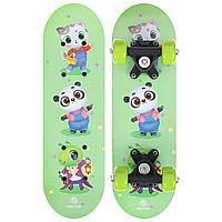 Скейтборд ONLITOP «Зверюшки» детский 44х14 см, колёса PVC d=50 мм