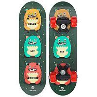 Скейтборд ONLITOP «Монстры» детский 44х14 см, колёса PVC d=50 мм