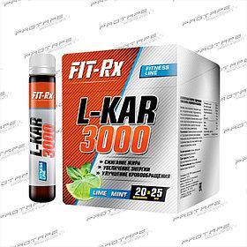 Жиросжигатель спортивное питание FitRx L-KAR 3000 20х25мл.
