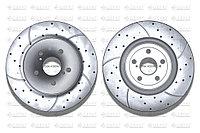 Тормозные диски Gerat DSK-F020W (ПЕРЕДНИЕ) Toyota RAV 4 IV пок., Harrier II пок., Lexus RX300,330,350 XU30