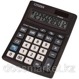 Калькулятор настольный Citizen Business Line CMB, 12 разрядов, 102*137*31 мм, черный