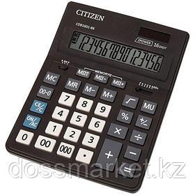 Калькулятор настольный Citizen Business Line CDB, 16 разрядов, 155*205*35 мм, черный