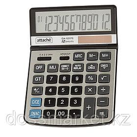 Калькулятор настольный Attache CA-1217C, 12 разрядов, 197*140*29 мм, серый