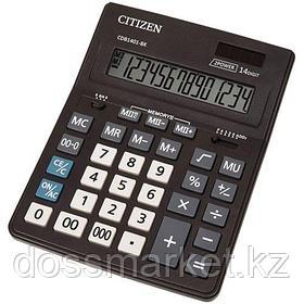 Калькулятор настольный Citizen Business Line CDB, 14 разрядов, 157*200*35 мм, черный