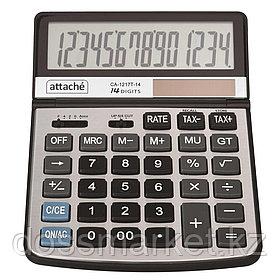 Калькулятор настольный Attache CA-1217T, 14 разрядов, 197*140*29 мм, серый