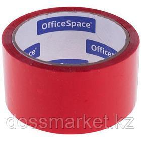 Упаковочная клейкая лента OfficeSpace, ширина ленты 48 мм, длина намотки 40 м, красная