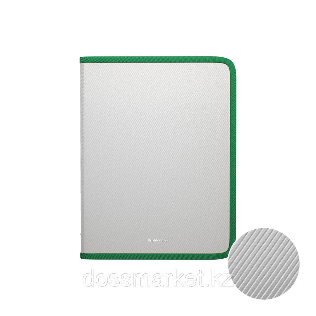 "Папка для тетрадей Erich Krause ""Diagonal Clear"", А4 формат, пластик, ассорти"
