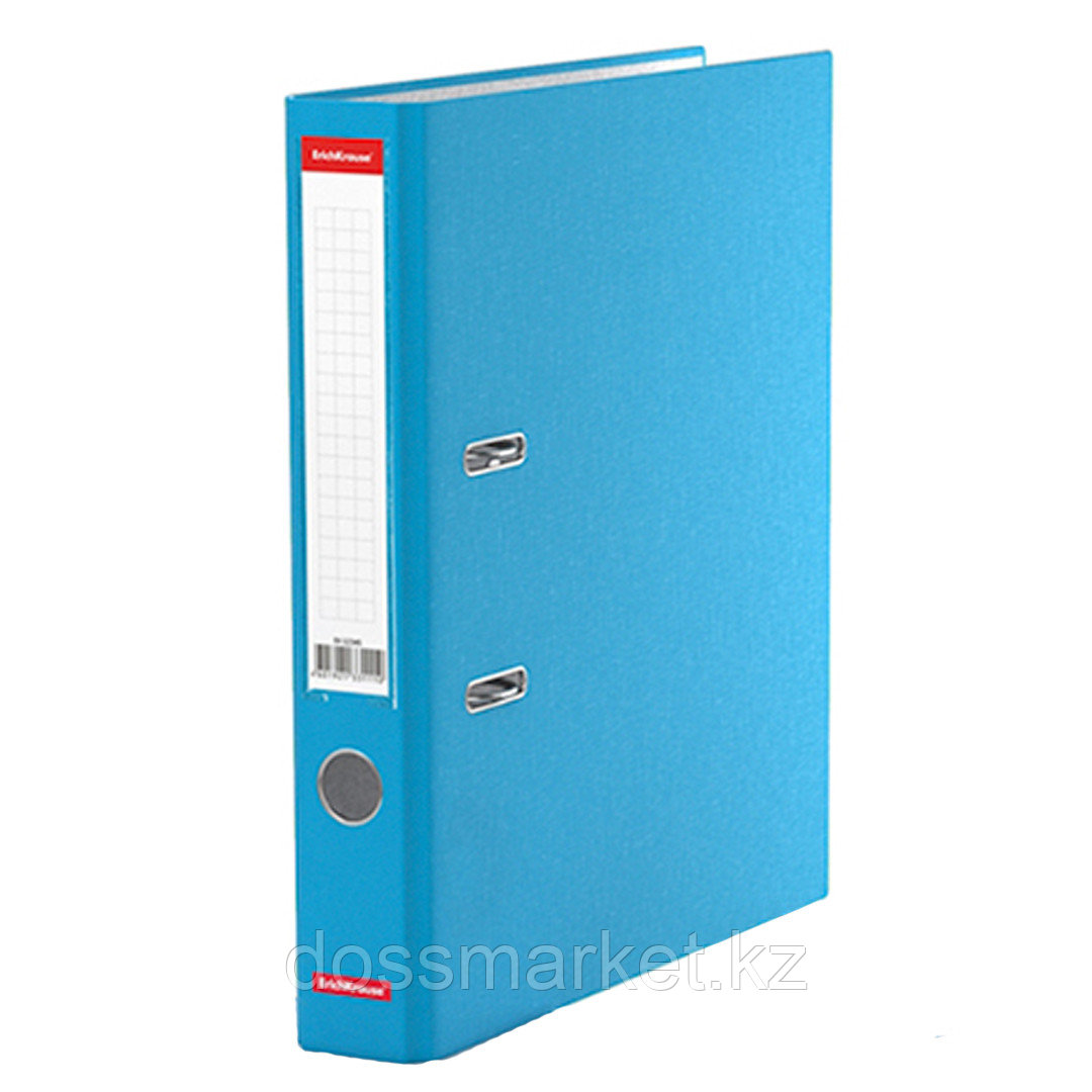 Папка-регистратор Erich Krause Neon, А4, ширина корешка 50 мм, голубая
