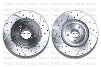 Тормозные диски Gerat DSK-F029W (ПЕРЕДНИЕ) Subaru Legacy, Outback B4/Bl, Forester Sf/Sg/Sh