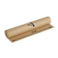 Крафт-бумага в рулоне для упаковки OfficeSpace, 420 мм*20 м, плотность 78 г/м2