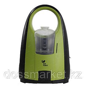 Пароочиститель Kitfort KT-903, 1 л, 2000 ВТ, зеленый/черный