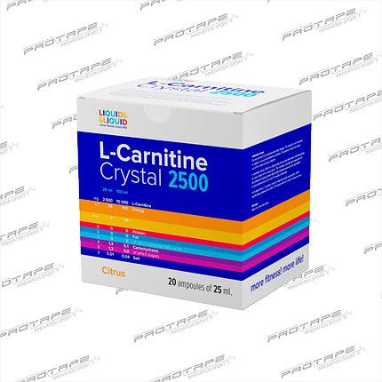 L-карнитин Liquid&Liquid L-CARNITINE 2500 20x25мл., фото 2