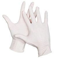 Перчатки из латекса, опудренные, нестерильные, размер M, 100 шт/упак
