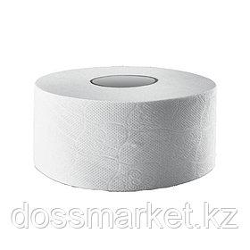 Туалетная бумага рулонная Murex Jumbo, 100 метров, 2-х слойная, белая