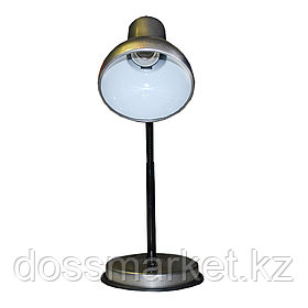 """Светильник настольный """"НТ 2077А"""", на подставке, гибкая стойка, серебро"""
