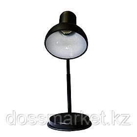 """Светильник настольный """"НТ 2077А"""", на подставке, гибкая стойка, черный"""