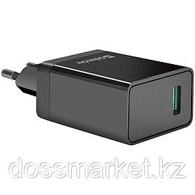 Универсальное USB зарядное устройство Defender UPA-101, быстрая зарядка, QC3.0, 18W, черный