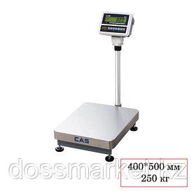 Весы напольные CAS HB 250, электронные, максимальная нагрузка 250 кг