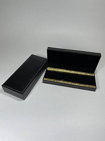 Футляр для ручек большой золотой, фото 2