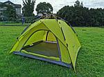 Палатка трехместная MIR-910 быстросборная 210*210*135см, фото 3