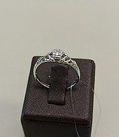Кольцо «Клоэ» с бриллиантами / 17 размер