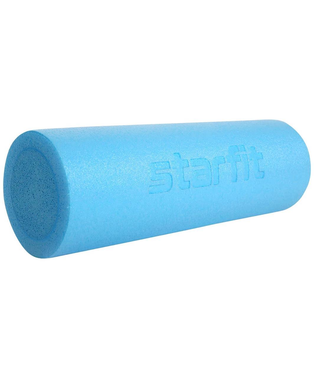 Ролик для йоги и пилатеса Core FA-501, 15x45 см, синий пастель Starfit