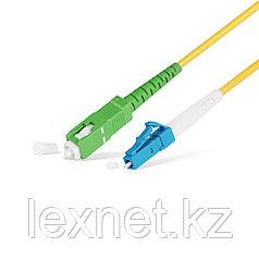Патч Корд Оптоволоконный SC/APC-LC/UPC SM 9/125 Simplex 3.0мм 1 м