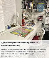 Для ученических столов мягкое стекло толщиной 2 мм размером 150х60 см глянцевое