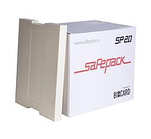 Термоконтейнер СейфПак СП-20 PPU гофрокороб + 6 хладоэлементов Тип-4 СП Plus -15-25