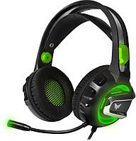 Гарнитура игровая CROWN CMGH-3102 Black&green
