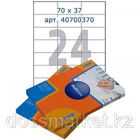 Лейбл  на 24 этикетк., А4, 70*37 мм, 100лист., Multilabel