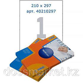 Лейбл  на 1 этикетк., А4, 210*297 мм, 100лист., Multilabel