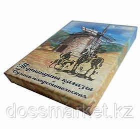 Бумага писчая, А4. 60 гр, 500 л, белизна 67%, потребит., газетная, 1,86 кг пачка, Дон Кихот,Россия
