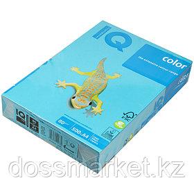 "Бумага ""IQ Color Intensive"" AB48, цв. голубой, А4,  80 г/м2,500 л.,402789"