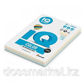 """Бумага """"IQ Color  Mixed-Packs Pale"""", формат А4, пл-ть 80гр/м2,250лист/пач. 406305"""