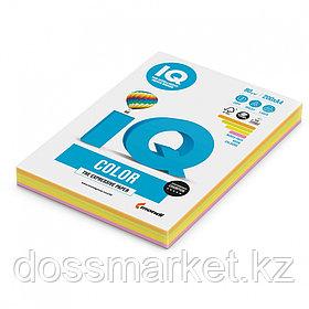 """Бумага """"IQ Color  Mixed-Packs Neon"""", формат А4, пл-ть 80гр/м2,200лист/пач.407470"""