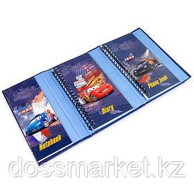 Органайзер складной, записная книжка, адресная книга, дневник, Cars, Академия Групп