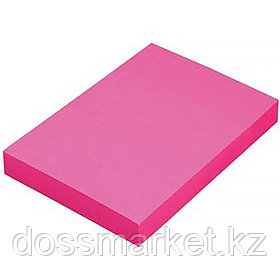 Постики  38х50 мм, 100лист, розовая., 3шт в упаковке