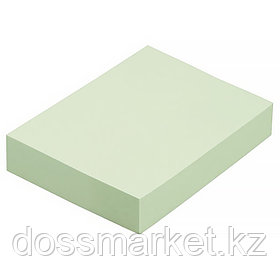 Постики  38х50 мм, 100лист, зелёная., 3шт в упаковке