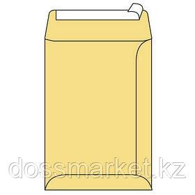 Конверт B4, 250*353,  крафт, без окна, с силикон. лентой, 100гр, цена за шт.