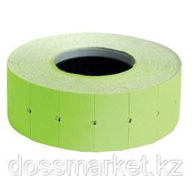 Этикет лента , (ценник) 22*12мм, зелёная. 800 шт ценников  в рулоне, SPONSOR